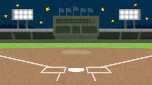 新型コロナウィルス感染症の影響で行っていなかったプロ野球が始まりました。