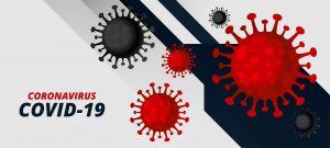 新型コロナ感染症のCOVID-19のイラストです。